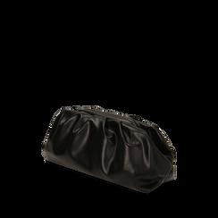 Maxi clutch nera, IDEE REGALO, 165122668EPNEROUNI, 002a