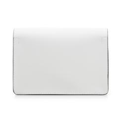 Pochette bianca in eco-pelle, Borse, 133764037EPBIANUNI, 003 preview