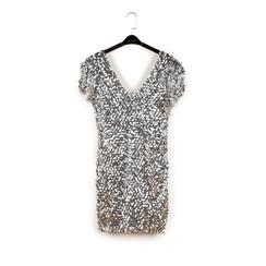 Minidress argento con paillettes, Primadonna, 15B411405TSARGEM, 003 preview