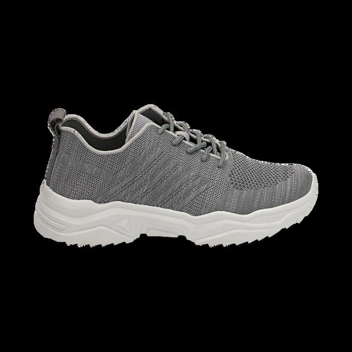Sneakers grigie in tessuto , Primadonna, 159701163TSGRIG036