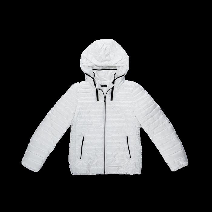 Piumino bianco Donna in Tessuto Tecnico, Abbigliamento, 128500501TSBIAN