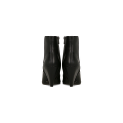 Tronchetti neri, tacco a cono 8 cm, Primadonna, 124993281EPNERO036, 003 preview