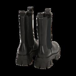 Botines Chelsea negro, platform 6 cm, Primadonna, 160622483EPNERO038, 004 preview