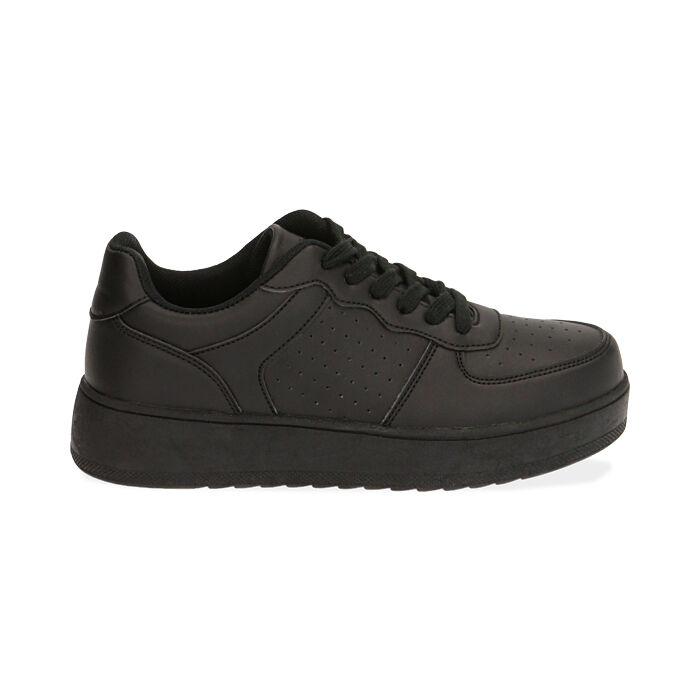 Sneakers nere , Primadonna, 170101907EPNERO035