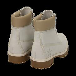 Scarponcini bianchi in nabuk, Promozioni, 16H220021NBBIAN, 004 preview