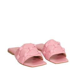 Zapatillas de piel rosa, Primadonna, 17L602033PEROSA035, 002a