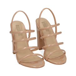 WOMEN SHOES SANDAL EP-PATENT NUDE, PROMOTIONS, 152760849VENUDE038, 002 preview