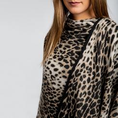 Poncho leopard, Abbigliamento, 12B409676TSLEOP, 004 preview