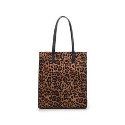 Maxi bag leopard in microfibra , Borse, 142900004MFLEOPUNI, 003 preview