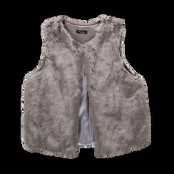 Smanicato eco-fur grigio, Abbigliamento, 12B400302FUGRIG, 001 preview