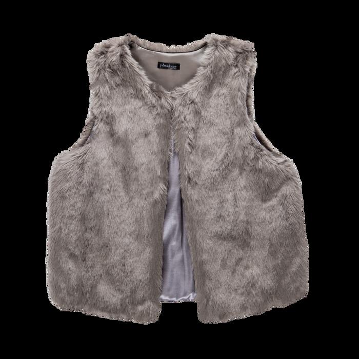 Smanicato eco-fur grigio, Abbigliamento, 12B400302FUGRIG