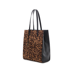 Maxi bag leopard in microfibra , Borse, 142900004MFLEOPUNI, 004 preview
