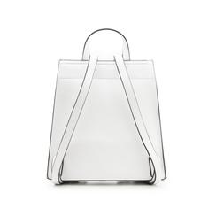 Zainetto bianco in eco-pelle minimal, Borse, 133783137EPBIANUNI, 003 preview
