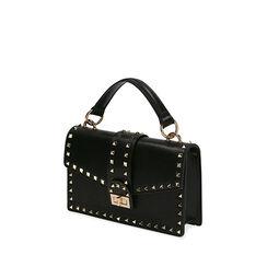 Bolso negro pequeño con tachuelas, Primadonna, 175122990EPNEROUNI, 002a