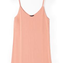 Mini-dress nude con scollo a V, Primadonna, 13F753052TSNUDEL, 002 preview