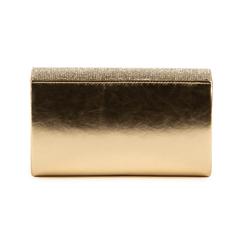Pochette doré brillante avec des strass, Sacs, 155108562LMOROGUNI, 003 preview