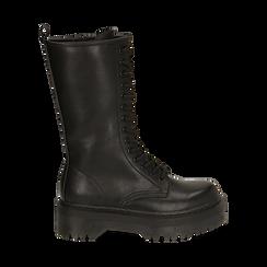 Anfibi con gambale medio neri, Primadonna, 162829101EPNERO035, 001 preview