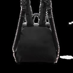 Zaino nero in lycra effetto piumino, Primadonna, 122317698LYNEROUNI, 002 preview