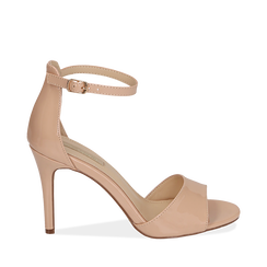 WOMEN SHOES SANDAL EP-PATENT NUDE, Chaussures, 154901361VENUDE036, 001a