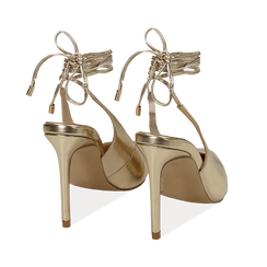 WOMEN SHOES CHANEL LAMINATED OROG, Primadonna, 152120715LMOROG036, 004 preview