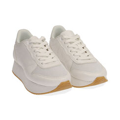 Sneakers bianche, Primadonna, 177519501EPBIAN035, 002 preview