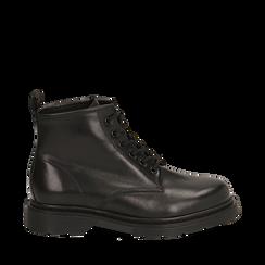 Amphibiens noirs en cuir, Primadonna, 167729410PENERO036, 001a