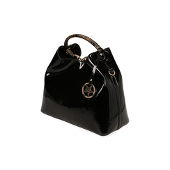 Sac noir en verni, IDEE REGALO, 16D200052VENEROUNI, 002 preview
