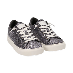 Sneakers argento glitter, Primadonna, 162600308GLARGE038, 002 preview