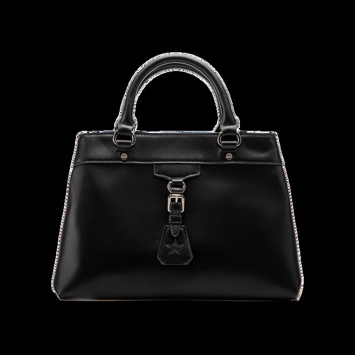 Mini-bag nera in ecopelle, Primadonna, 121818007EPNEROUNI