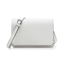Pochette bianca in eco-pelle, Borse, 133764037EPBIANUNI, 001 preview