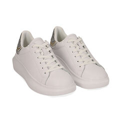 Sneakers bianco/argento, Scarpe, 172602011EPBIAR035, 002 preview