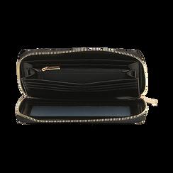 Portafogli nero, Borse, 155122519EPNEROUNI, 003 preview