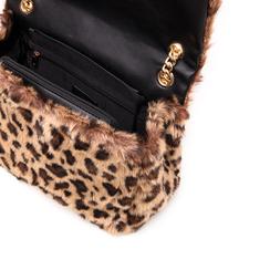 Borsa leopard in eco-fur, Borse, 141918834FULEMAUNI, 004 preview