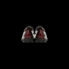 Stringate derby vernice bordeaux , Primadonna, 120618121VEBORD036, 003 preview