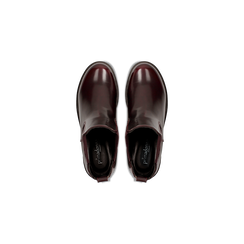 Chelsea Boots bordeaux con suola alta, tacco 5,5 cm, Scarpe, 122808601ABBORD, 004 preview