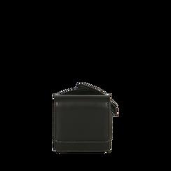 Mini bag nera da polso , Borse, 165102851EPNEROUNI, 001a