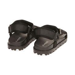 Sandales de plage en tissu noir, Primadonna, 170910057TSNERO035, 004 preview