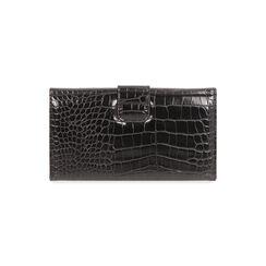 Portafogli nero stampa cocco, Primadonna, 185102538CCNEROUNI, 004 preview