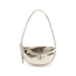 Petit sac argenté en simili-cuir brillant, Sacs, 155122722LMARGEUNI, 001 preview