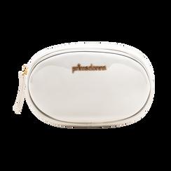 Marsupio in vernice bianco, Borse, 113309843VEBIANUNI, 001 preview