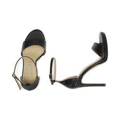 Sandali neri, tacco 11,5 cm, Primadonna, 172133410EPNERO036, 003 preview