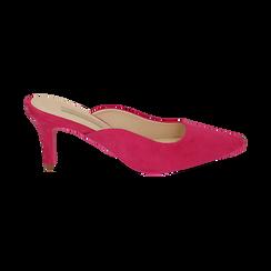 CALZATURA SABOT MICROFIBRA FUCS, Chaussures, 152133675MFFUCS037, 001 preview