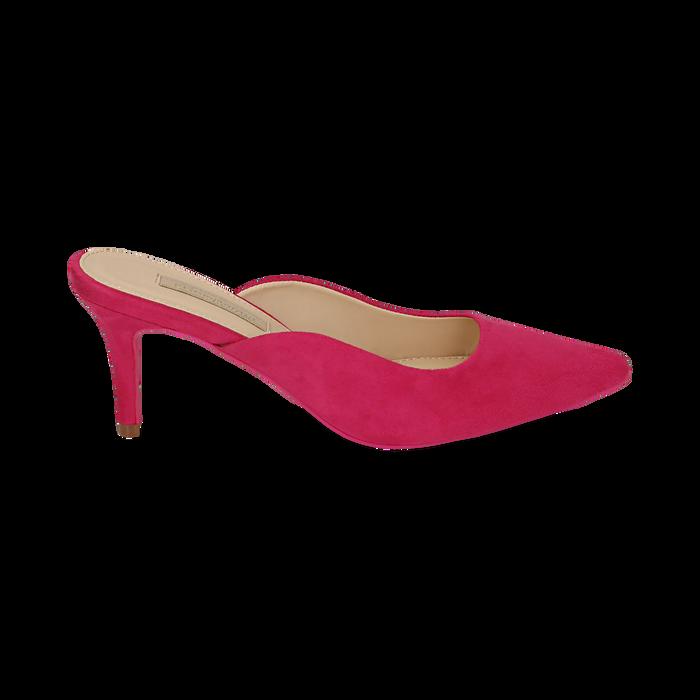 CALZATURA SABOT MICROFIBRA FUCS, Chaussures, 152133675MFFUCS037