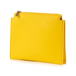 Pochette jaune en simili-cuir, Sacs, 155122634EPGIALUNI, 004 preview
