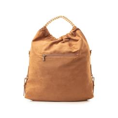Maxi-bag marrone in microfibra , Borse, 132403282MFMARRUNI, 003 preview
