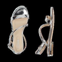Sandali argento effetto mirror, Primadonna, 152722492SPARGE036, 003 preview