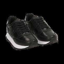 Sneakers nere stampa vipera, Primadonna, 162619079EVNERO037, 002 preview