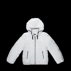 Piumino bianco Donna in Tessuto Tecnico, Abbigliamento, 128500501TSBIAN, 001a preview