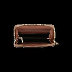 Portafoglio nude in ecopelle vernice , Borse, 122200896VENUDEUNI, 004 preview