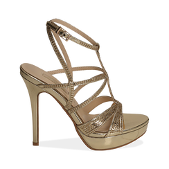 CALZATURA SANDALO SPECCHIO OROG, Chaussures, 152175011SPOROG035, 001a